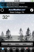 AccuWeather.com for iPhone