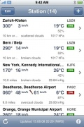 AeroWeather for iPhone