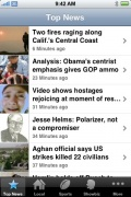 AP Mobile News Network for iPhone