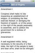 Constitution for iPhone and iPod Touch for iPhone