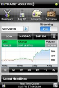 E*TRADE Mobile Pro for iPhone