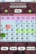 Free Menstrual Calendar for iPhone