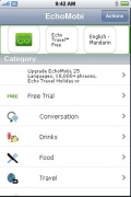 Free Talking Translator : EchoMobi for iPhone