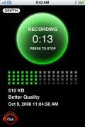iTalk Recorder for iPhone