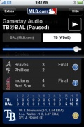 MLB.com At Bat 2009 for iPhone