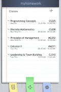 myHomework for iPhone