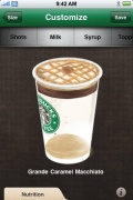myStarbucks for iPhone