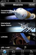 NASA app for iPhone for iPhone