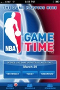 NBA Game Time for iPhone