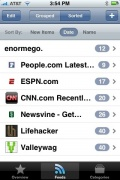 Reader for iPhone