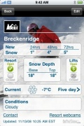 Snow and Ski Report by REI for iPhone