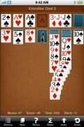 Sol Free Solitaire for iPhone