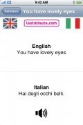 Talking Italian Phrasebook for iPhone