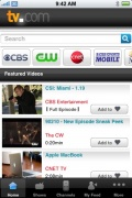 TV.com for iPhone