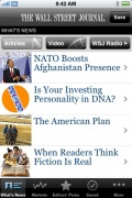 WSJ – The Wall Street Journal for iPhone