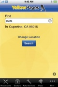 Yellow Pages for iPhone